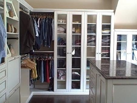 Custom Walkin Closet Design