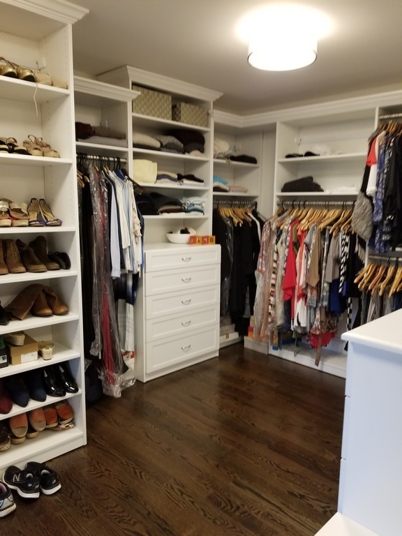 Walkin Custom Closet in White