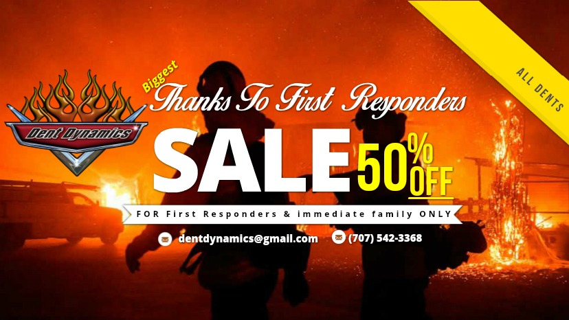First Responders Sale from Dent Dynamics