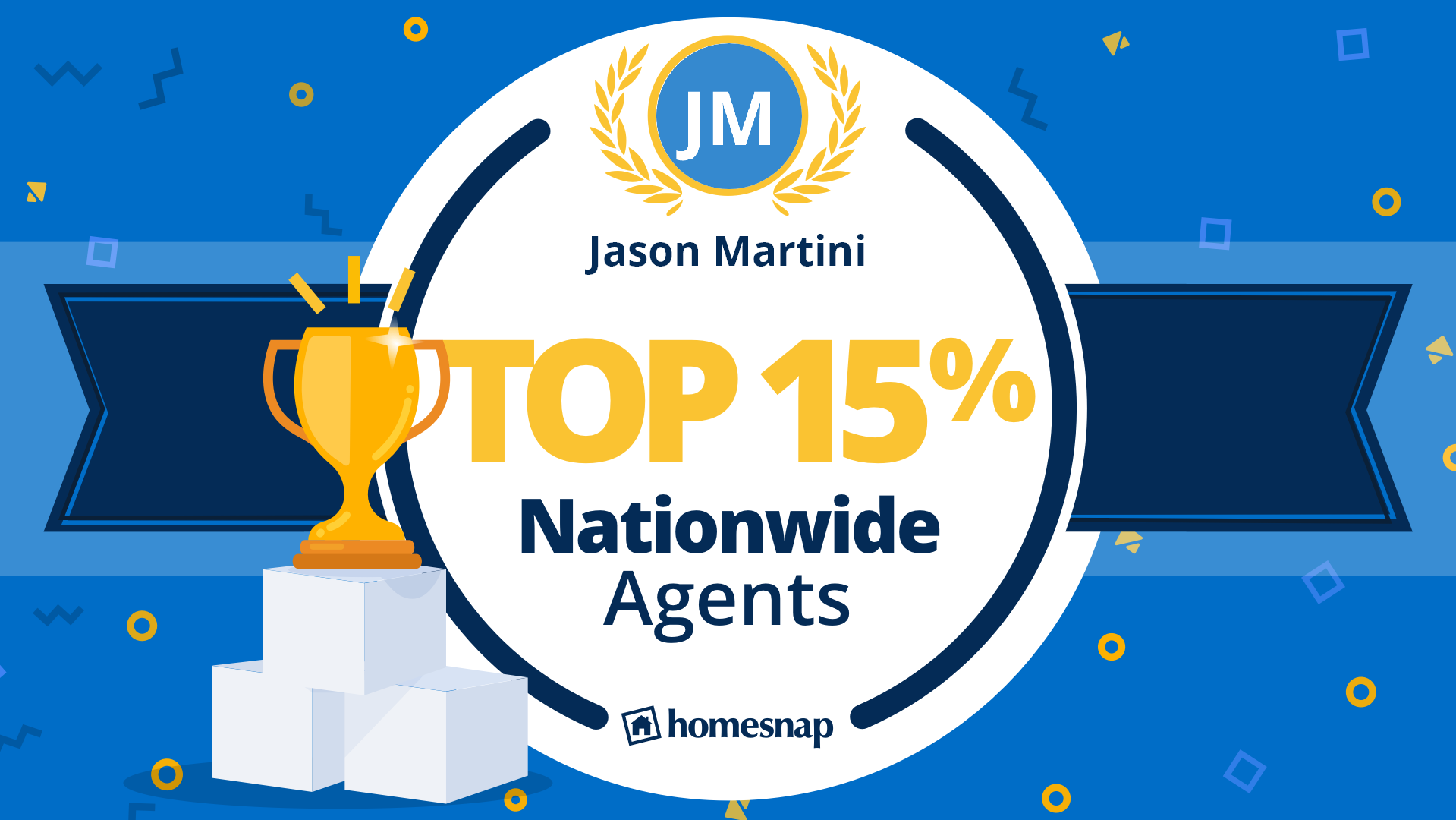 Jason Martini is Top 15% Nationwide Agent
