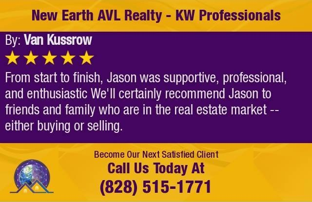 New Earth AVL Realty - 5 Star Review from Van Kussrow