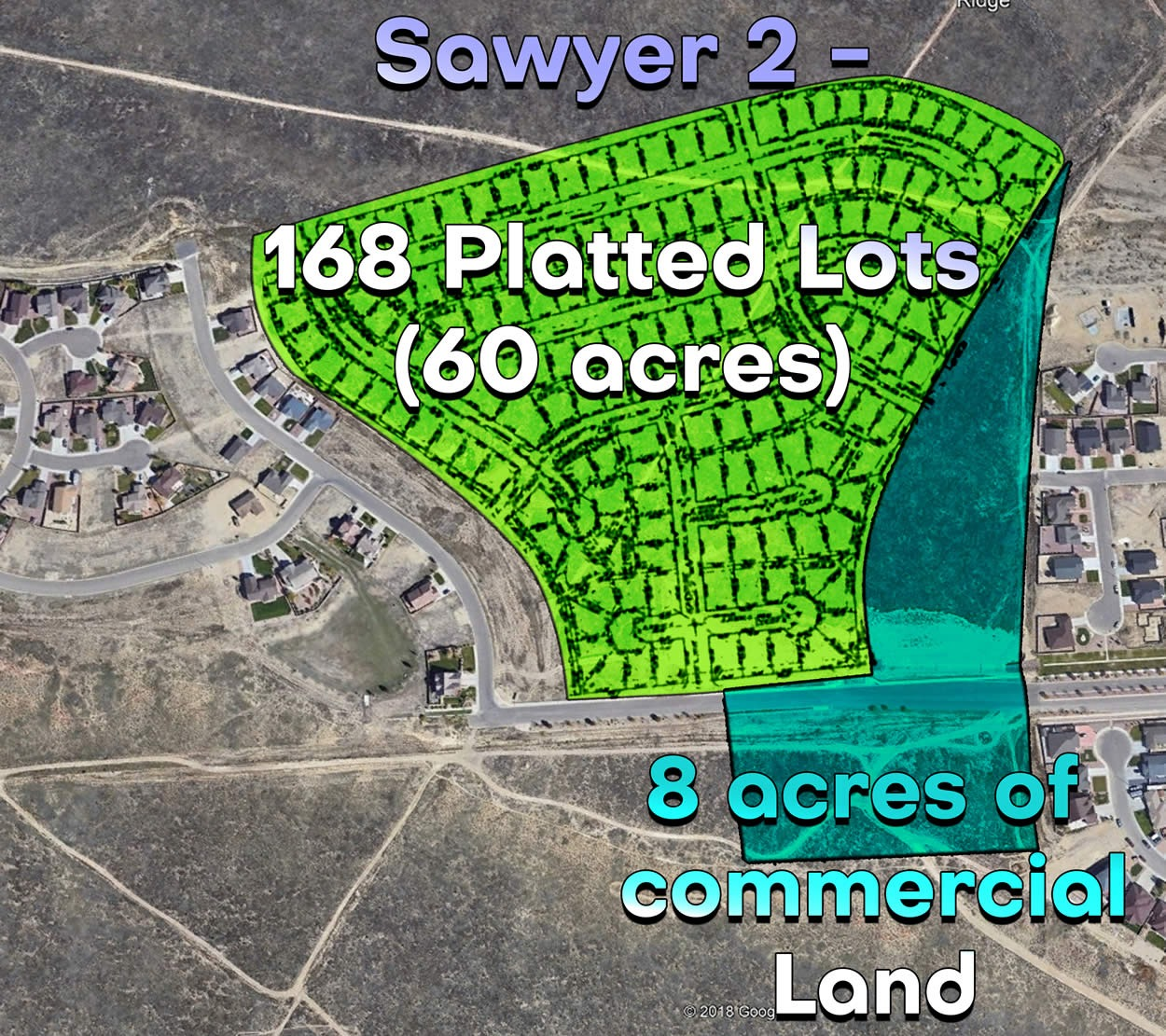 Sawyer Ridge Phase 2 Land Development
