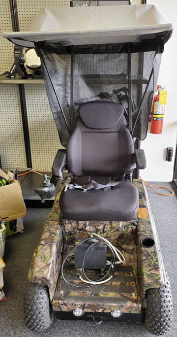 Camo Motorized Chair