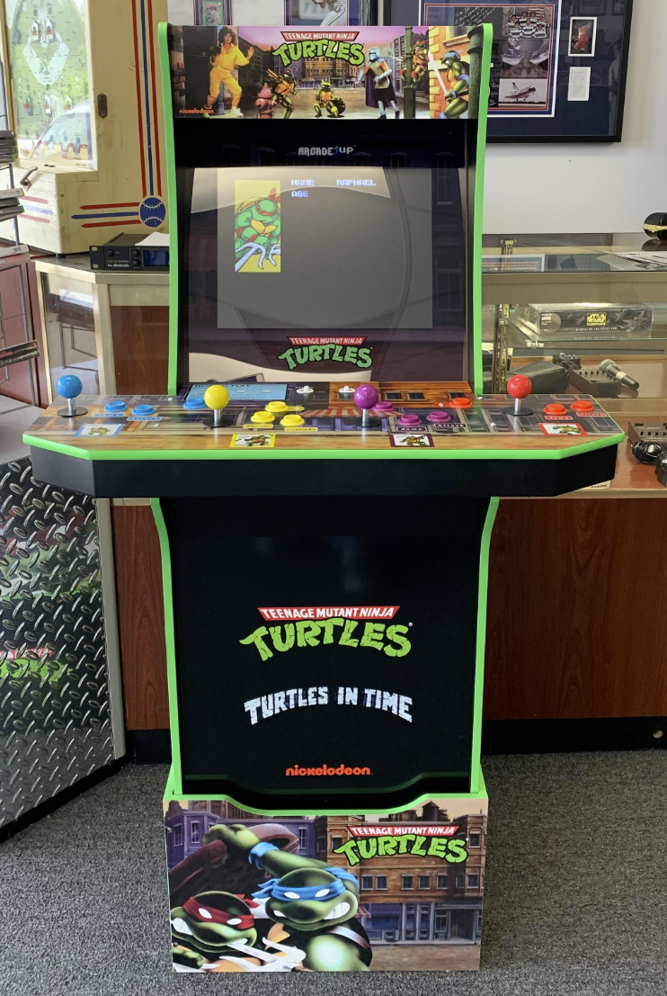 Turtles Arcade Game