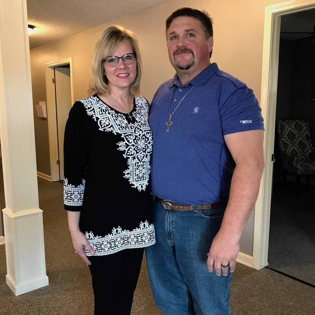 husband and wife that lost over 100 pounds