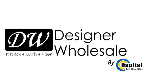 Logo for Designer Wholesale by Capital Construction