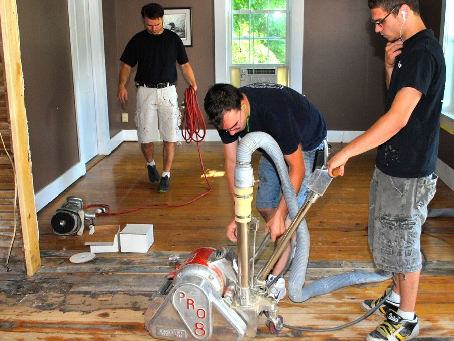 dust-free flooring restoration hooksett nh