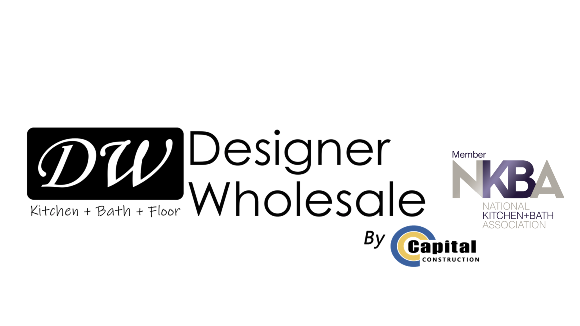 kitchen remodeler logo of designer wholesale