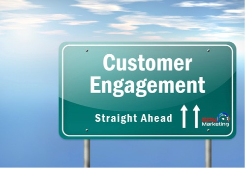 Road sign saying customer engagement straight ahead Memphis Internet Marketing Service