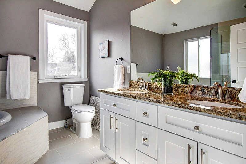 Elegant Stone Kitchen and Bath Projects