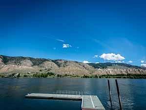Kamloops waterfront property dock