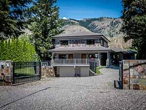 Front gate kamloops waterfront home for sale