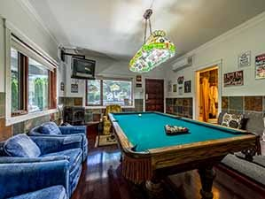 Billiards room & man cave