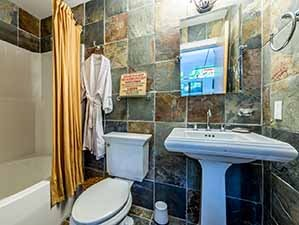 Billiards room & man cave bathroom & en-suite