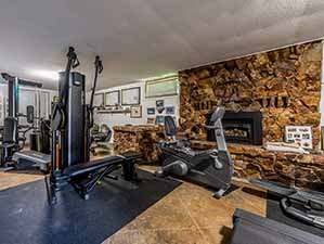 Full gym and fitness center riverfront house for sale Kamloops