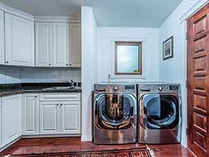 Laundry room Kamloops riverfront property