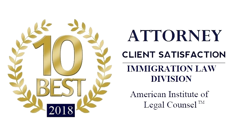 2018 10 best attorney client satisfaction award