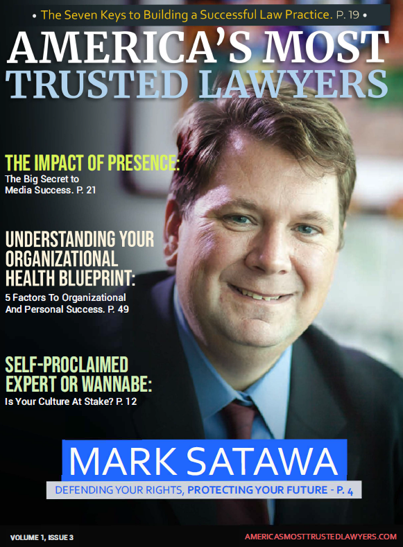 America's most trusted lawyers magazine cover