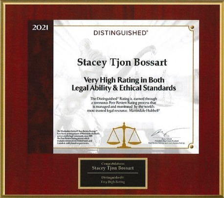 Stacey Bossart Recognition