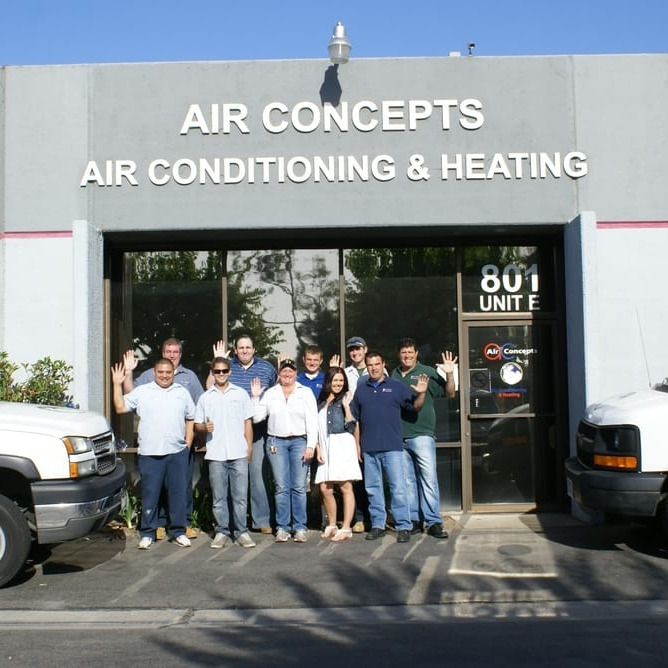 Air Concepts team photo