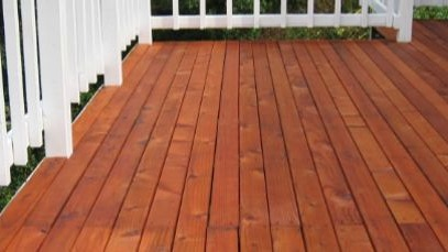 Greg Baker Deck Staining