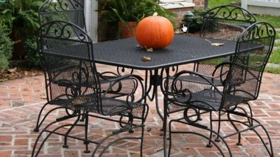Greg Baker Patio Furniture Painting