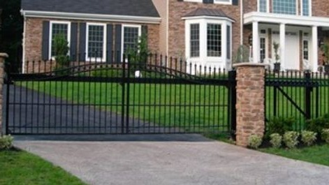 Greg Baker Security Fences and Gates Painting