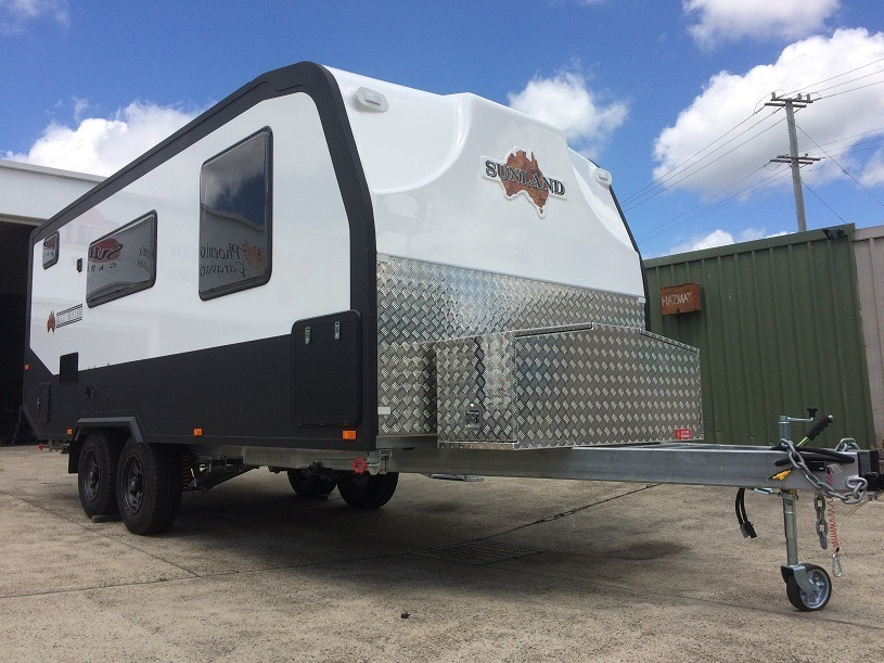 Off Road Caravans Blue Heeler by Sunland Caravans