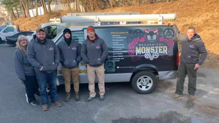 Mechanical Monster Service Techs