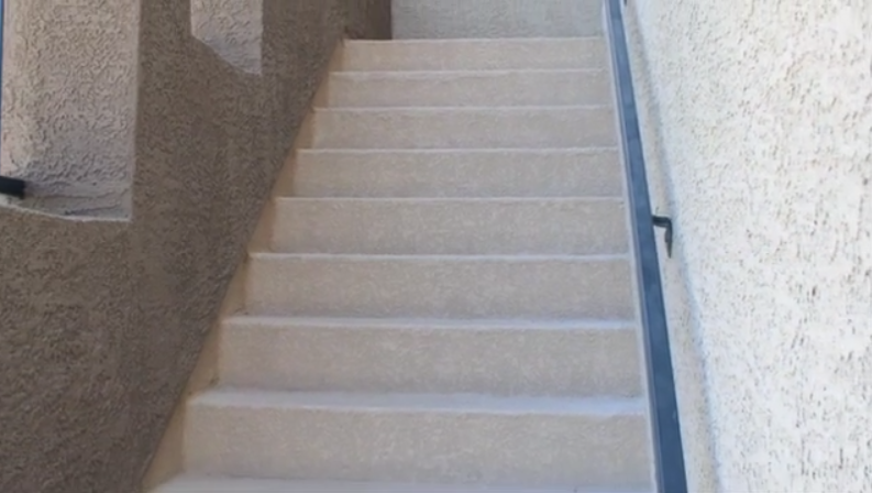 Waterproofing Stairs