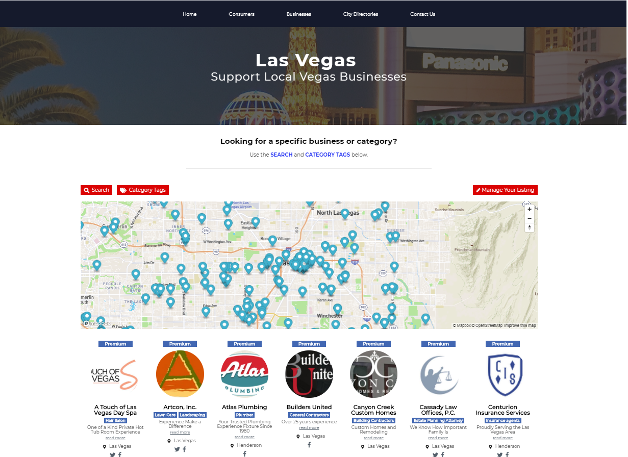Support Local Begas Businesses Directory